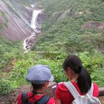 子どもと屋久島 千尋の滝