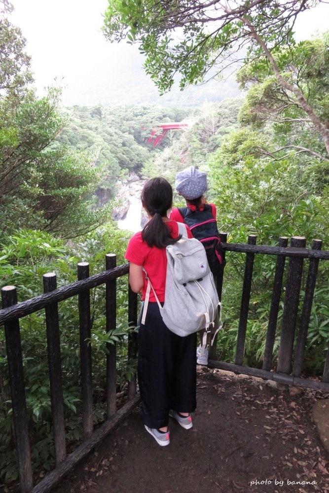 トローキの滝 屋久島 子供観光